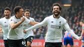 Crystal Palace - Liverpool 1-2: Salah giúp THE KOP ngược dòng phút 85
