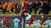 Roma - Barcelona 3-0 (chung cuộc 4-4): Cú sốc Barca, Messi cúi đầu rời sân