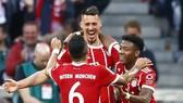 Bayern Munich - Moenchengladbach 5-1: Hùm xám thêm cữ dượt