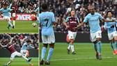 West Ham - Man City 1-4: Sức mạnh nhà vô địch, 35 trận và 100 bàn thắng