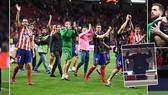 Atletico Madrid - Arsenal 1-0 (chung cuộc 2-1): HLV Arsene Wenger thất vọng, trắng tay ra đi