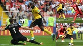 Bảng G, Bỉ - Tunisia 5-2: Hazard cú đúp, Lukaku lập hattick và bắt kịp 4 bàn của Ronaldo