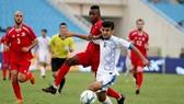 Olympic Palestine - Olympic Uzbekistan 2-1: Cherif và Dabbagh lập công