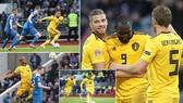 Iceland - Bỉ 0-3: Hazard mở tỷ số, Lukaku lập cú đúp