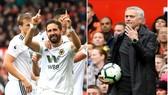 Man United - Wolverhampton 1-1: Moutinho ngăn Mourinho lấy 3 điểm trên Old Trafford