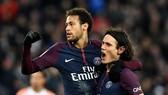 PSG - Reims 4-1: Cavani, Neymar và Meunier lập kỷ lục