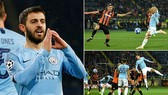 Shakhtar Donetsk - Man City 0-3: David Silva, Laporte, Bernando Silva mở hội 3 sao