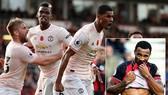 Bournemouth - Man United 1-2: Martial gỡ hòa, Rashford giành 3 điểm cho Mourinho