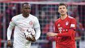 Bayern Munich - Dusseldorf 3-3: Niklas Sule, Muller ghi bàn, Lukebakio ngược dòng lập hat-trick