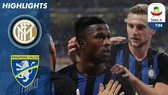 Inter Milan - Frosinone 3-0: Balde, Lautaro Martinez giúp Inter bắt kịp Napoli