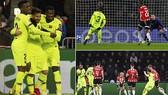 PSV Eindhoven - Barcelona 1-2: Messi, Pique loại PSV