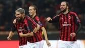 AC Milan - Dudelange 5-2: Cutrone, Calhanoglu, Borini mở hội Milan