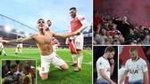 Arsenal - Tottenham 4-2: Aubameyang, Lacazette, Torreira ngược dòng giành 3 điểm