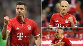 Bayern Munich - Nurnberg 3-0: Lewandowski cú đúp lịch sử, Ribery góp vui cho HLV Niko Kovac