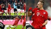 Bayern Munich - Leipzig 1-0: Ribery lập công và 2 thẻ đỏ kịch tính phút bù giờ
