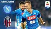 Napoli - Bologna 3-2: Milik, Mertens giành 3 điểm cho HLV Carlo Ancelotti