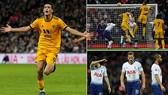 Tottenham - Wolverhampton 1-3: Harry Kane khai màn, Boly, Jimenez, Costa xuất thần thắng ngược