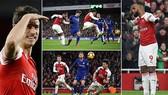Arsenal - Chelsea 2-0: Lacazette, Koscielny thăng hoa, HLV Unai Emery hạ Maurizio Sarri