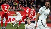 Girona - Real Madrid 1-3 (chung cuộc 3-7): Benzema lập cú đúp, Real vào bán kết