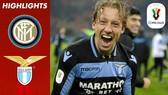 Inter - Lazio 1-1 (chung cuộc 3-4): Radu thẻ đỏ, tội đồ Lautaro Martinez, Nainggolan loại Inter