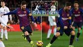 Barcelona - Valencia 2-2: Gameiro, Parejo ghi bàn nhưng Messi kịp cứu thua