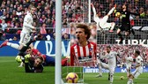 Atletico Madrid - Real Madrid 1-3: Casemiro, Ramos, Bale soán ngôi Atletico