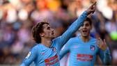 Rayo Vallecano - Atletico 0-1: Griezmann ghi bàn may mắn, HLV Simeone tạm vươn lên nhì bảng