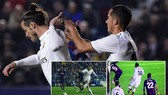 Levante - Real Madrid 1-2: Benzema, Gareth Bale tận dụng cơ hội, Nacho, Pedro Lopez nhận thẻ đỏ