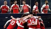 Arsenal - Bournemouth 5-1: Ozil, Mkhitaryan, Koscielny, Aubameyang, Lacazette đua tài