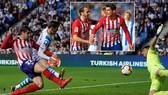 Real Sociedad - Atletico Madrid 0-2: Morata lập cú đúp, Simeone bám đuổi Barca
