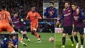 Barcelona - Lyon 5-1 (chung cuộc 5-1): Lionel Messi, Coutinho, Pique, Dembele tỏa sáng tại Nou Camp