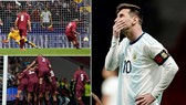 Argentina - Venezuela 1-3: Salomon Rondon, Jhon Murillo, Josef Martinez gieo sầu cho Messi