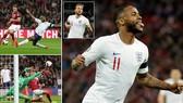 Anh - CH Séc 5-0: Sterling lập hattrick, Harry Kane tỏa sáng, HLV Gareth Southgate nhất bảng A
