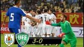 Uruguay - Uzbekistan 3-0: Gaston Pereiro ở tỷ số, Christian Stuani lập cú đúp, Uruguay gặp Thái Lan