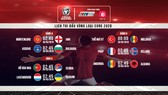 Loạt trận Vòng loại Euro 2020 đêm nay 25/3 và rạng sáng mai 26/3