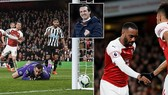 "Arsenal - Newcastle 2-0: Ramsey, Lacazette ""bắn phá"", HLV Unai Emery vào tốp 3"