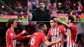 Atletico Madrid - Girona 2-0: Godin, Griezmann tỏa sáng phút cuối trận