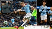 Man City - Cardiff 2-0: De Bruyne, Sane lập công, HLV Pep Guardiola lấy lại ngôi đầu