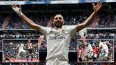 Real Madrid - Bilbao 3-0: Benzema lập hattrick, HLV Zidane quyết giành ngôi Á quân của Atletico