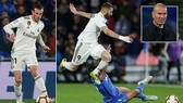 Getafe - Real Madrid 0-0: Benzema, Brahim Diaz, Gareth Bale tịt ngòi, HLV Zidane bị Atletico bỏ xa