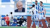 Sociedad - Real Madrid 3-1: Jesus Vallejo nhận thẻ đỏ, Merino, Zaldua, Barrenetxea hạ HLV Zidane