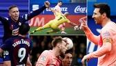 Eibar - Barcelona 2-2: Marc Cucurella mở tỷ số, siêu sao Lionel Messi lập cú đúp trong 1 phút