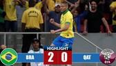 Giao hữu Brazil - Qatar 2-0: Neymar tái chấn thương, Richarlison, Jesus lập công