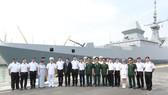Tàu khu trục của Hải quân Singapore thăm Đà Nẵng