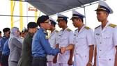Tàu hải quân Brunei thăm Đà Nẵng