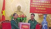 Đại tướng Đỗ Bá Tỵ, Phó Chủ tịch Quốc hội thăm Bộ Tư lệnh Quân Khu 5