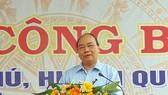 Thủ tướng Nguyễn Xuân Phúc dự Lễ công nhận xã Quế Phú đạt chuẩn nông thôn mới