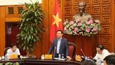 Phó Thủ tướng Vương Đình Huệ chủ trì cuộc họp về cổ phần hóa DNNN của TPHCM. Nguồn: TIENPHONG.VN