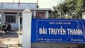 Đài truyền thanh huyện Trà Ôn nơi bà Mai công tác. Ảnh: TUẤN QUANG