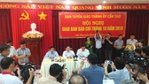 Giao ban báo chí TP Cần Thơ: Nhiều câu hỏi về vụ đổi 100 USD chưa được trả lời dứt điểm